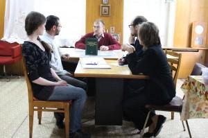 Состоялось выездное заседание рабочей группы Научно-редакционного совета при Новоспасском монастыре