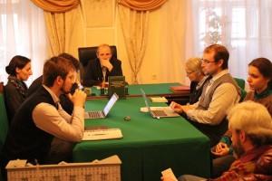 Третье совещание ответственных редакторов томов с документами отделов и комиссий Священного Собора 1917–1918 гг.